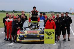 2014 Il campione Petter Solberg festeggia