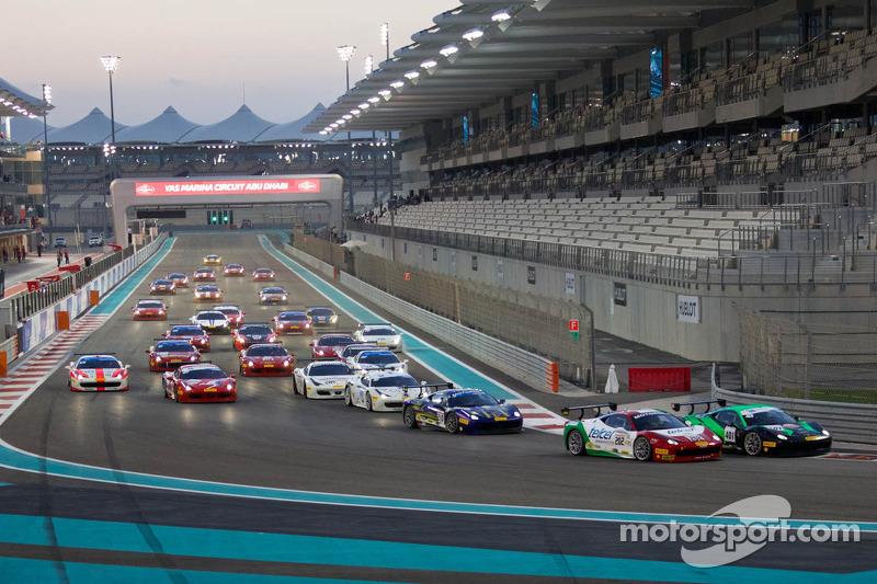 Ferrari Challenge APAC/NA arranque