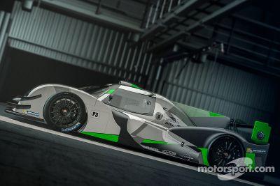 LAS Motorsport LMP3 - renderização