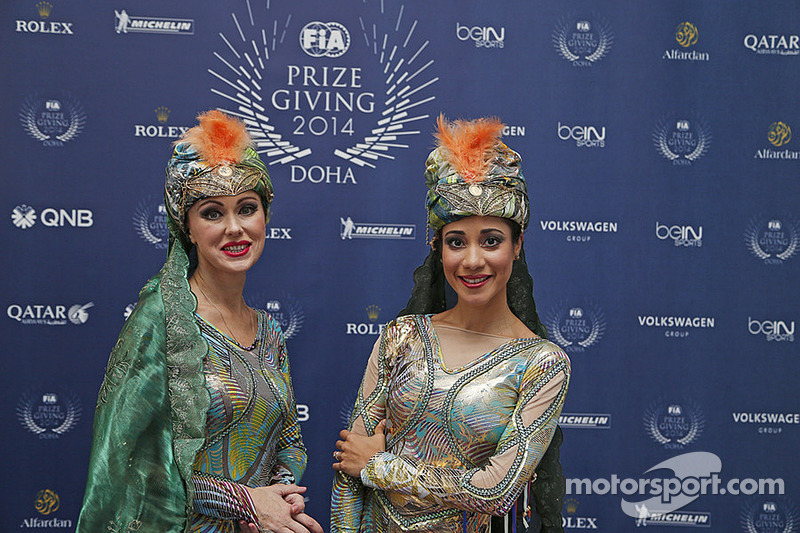 Entertainment at the 2014 FIA Prize Giving Gala