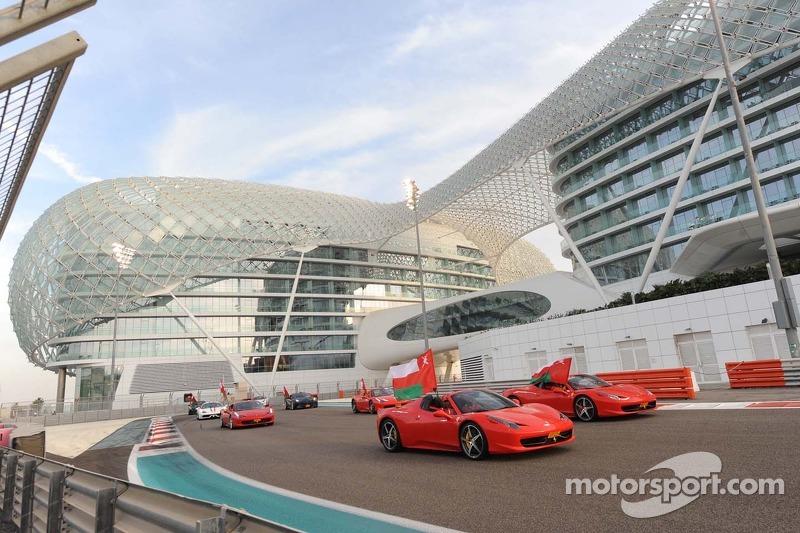 Ferrari geçiş töreni