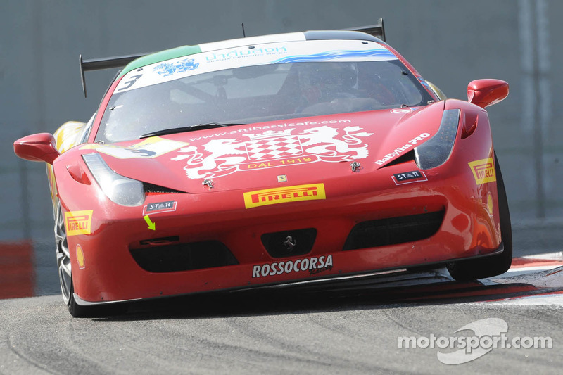 #3 Rossocorsa Ferrari 458: Constantino Bertuzzi