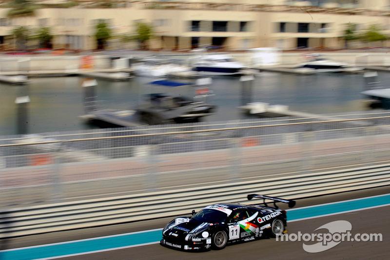 #11 Kessel Racing Ferrari 458 GT3: Vadim Gitlin, Marco Frezza, Isaac Tutumlu