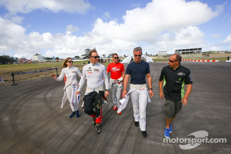 Susie Wolff, Petter Solberg, Tom Kristensen, David Coulthard