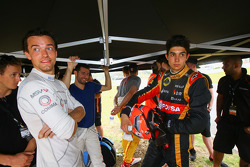 Jolyon Palmer e Esteban Ocon