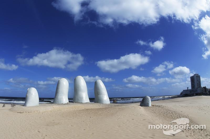 Interessante arte da spiaggia