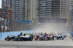 Этап Формулы Э в Пунта-дель-Эсте, субботняя гонка.