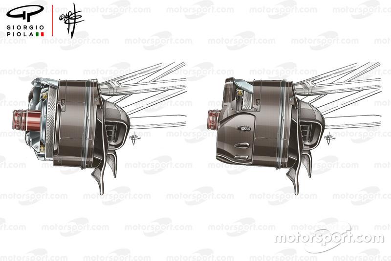 Choix des tambours de freins de la Renault R.S.18