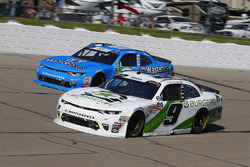 Tyler Reddick, JR Motorsports, Chevrolet Camaro BurgerFi and Matt Tifft, Richard Childress Racing, Chevrolet Camaro Wastebits