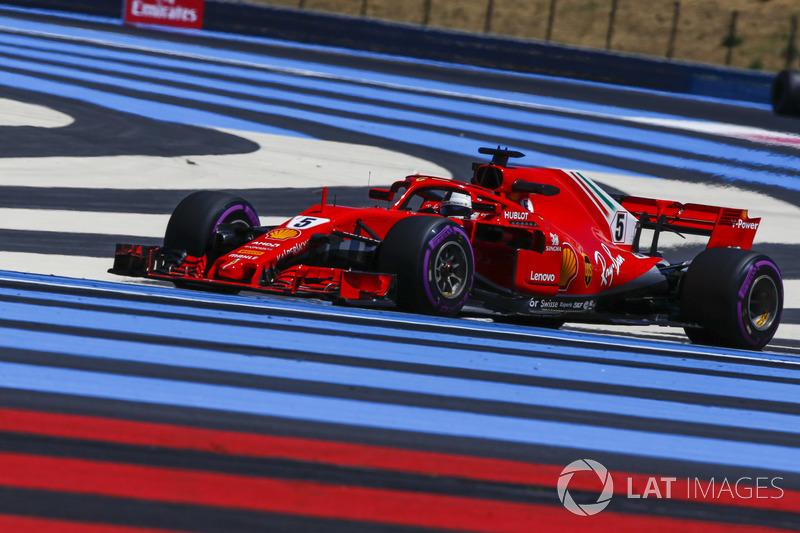 5. Sebastian Vettel, Ferrari SF71H