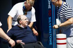 Sir Frank Williams, Team Principal, Williams Martini Racing