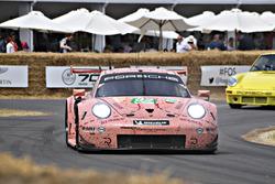 Kevin Estre Porsche 911 RSR Pink Pig