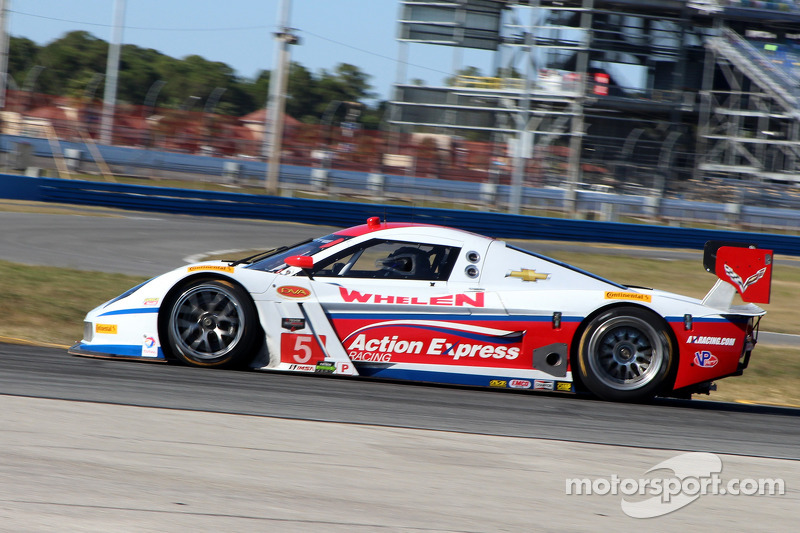 #5 Action Express Racing Corvette DP: Max Papis, Leh Keen