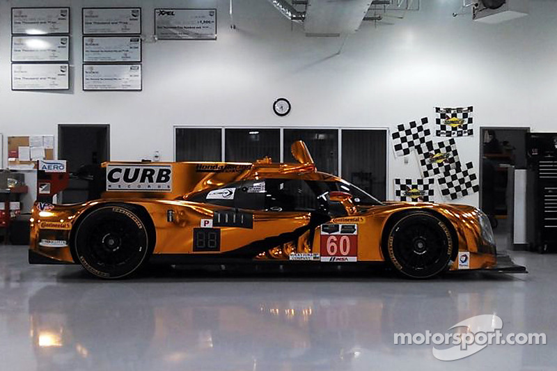 Ligier JS P2 Honda nella officina di Michael Shank Racing