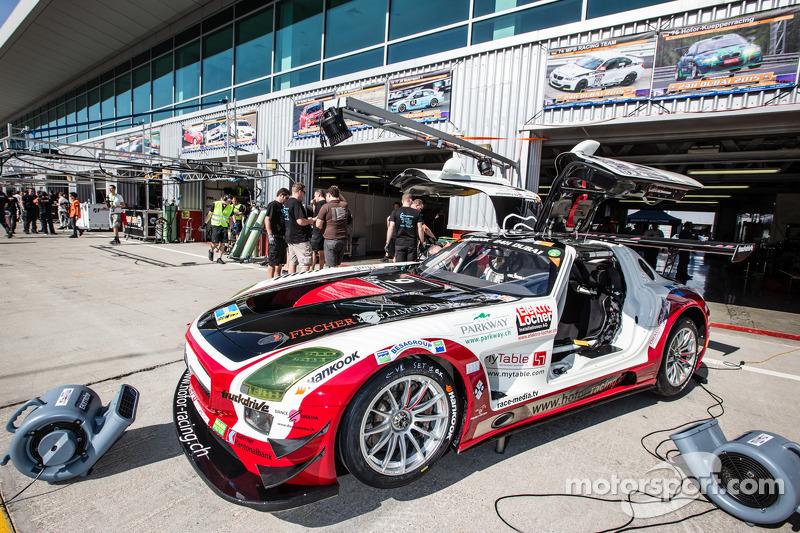 #9 Hofor-Racing,梅赛德斯SLS AMG GT3