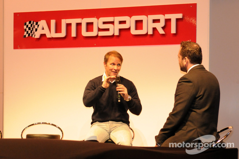 Петтер Сольберг on the Autosport Stage