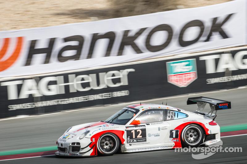 #12 Fach Auto Tech Porsche 997 GT3 R: Otto Klohs, Martin Ragginger, Jens Richter, Sven Müller