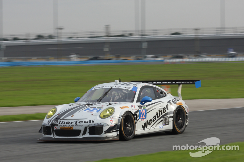 #22 Alex Job Racing Porsche 911 GT America: Cooper MacNeil, Leh Keen, Andrew Davis, Shane van Gisber