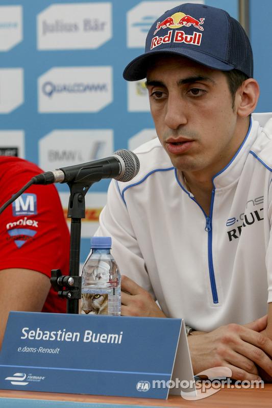 Sebastien Buemi, e.dams-Renault Formula E Team