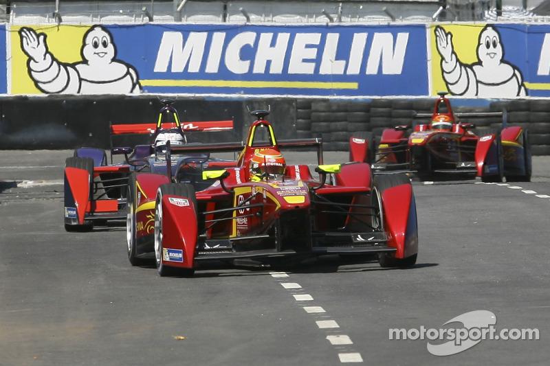 Nelson Piquet Jr., China Racing Formula E Team Sam Bird, Virgin Racing Formula E Team Ho-Pin Tung, C