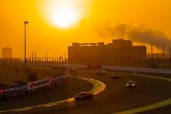 Ação corrida nascer do sol