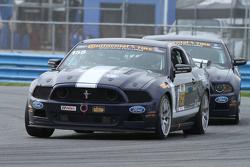 #158 Multimatic Motorsports Mustang Boss 302R: Jade Buford, Ian James, Austin Cindric