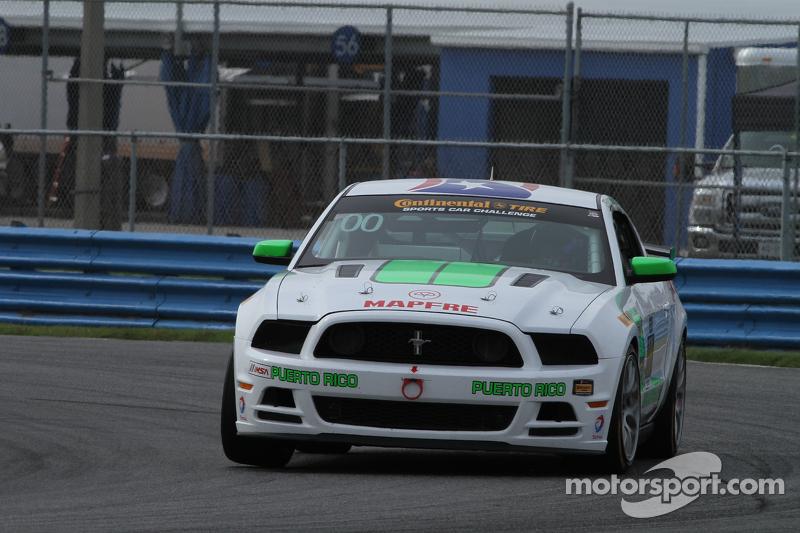#00 Zero Zero Motorsport Mustang Boss 302R: Roly Falgueras, Bryan Ortiz