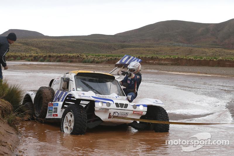 #330 MD Buggy: Romain Dumas, François Borsotto in Schwierigkeiten