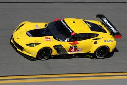 #4 Corvette Racing,雪佛兰Corvette C7.R: Oliver Gavin, Tommy Milner, Simon Pagenaud