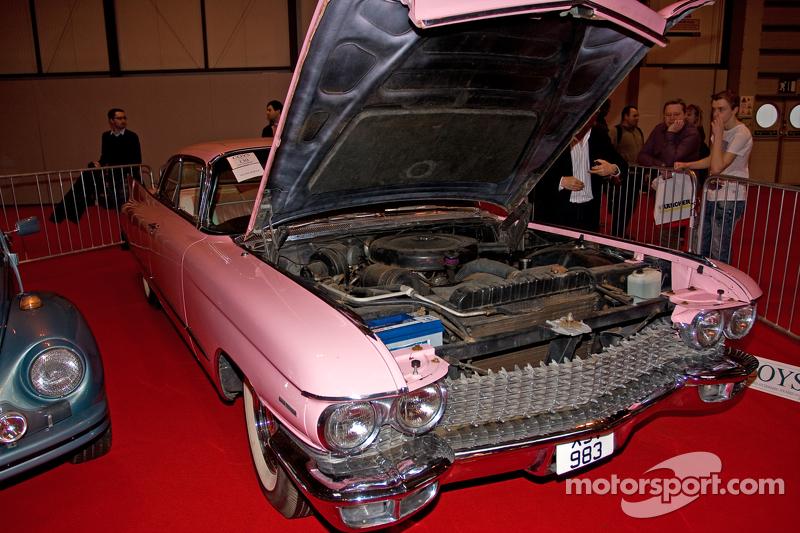 Coys Auction Car Display