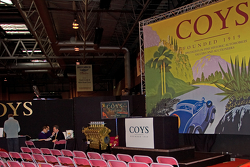 Coys Auction Car Display