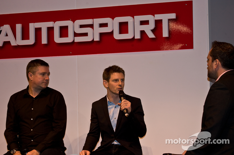 Anthony Davidson und Sky-Reporter David Croft