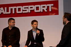 Anthony Davidson and Sky F1 Commentator David Croft