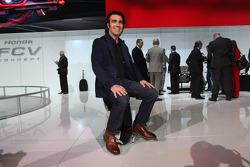 Honda-Stand, Dario Franchitti