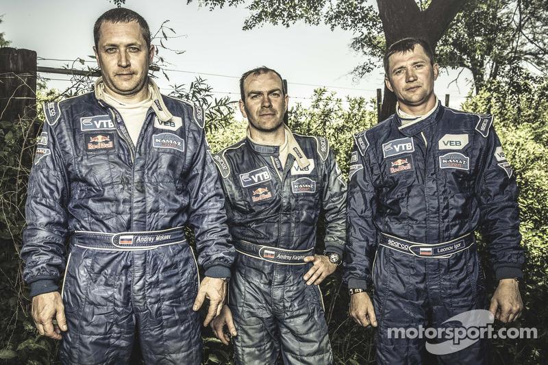 Andrey Karginov, Andrey Mokeev, Igor Leonov
