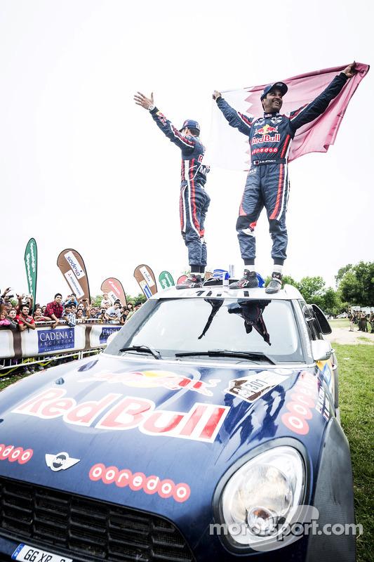 Vencedor da Categoria Carro #301 Mini: Nasser Al-Attiyah, Mathieu Baumel