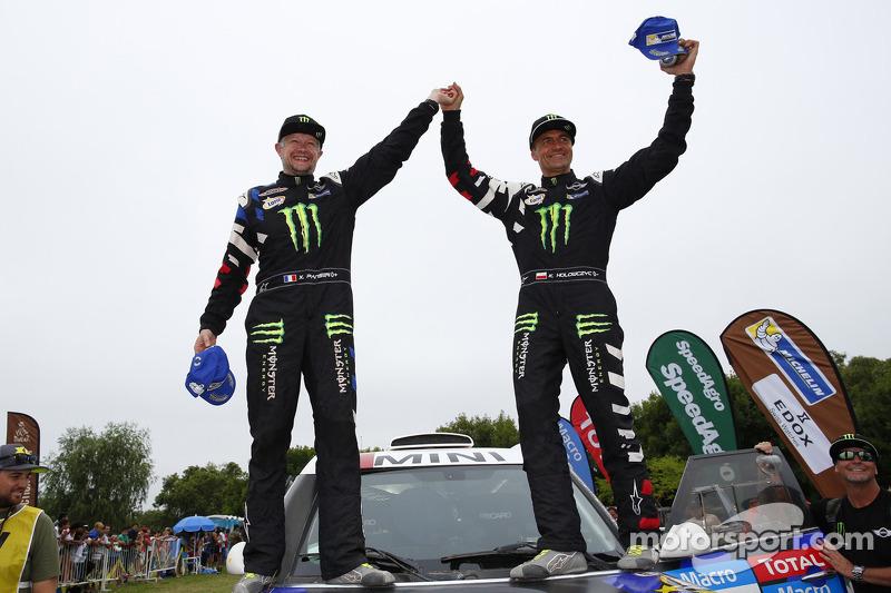 3. Automobilwertung: Krzysztof Holowczyc, Xavier Panseri
