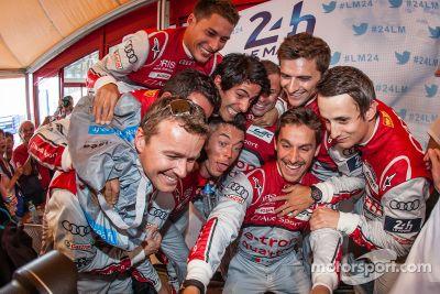 Fotos de la ceremonia de premios de la Sarthe Endurance
