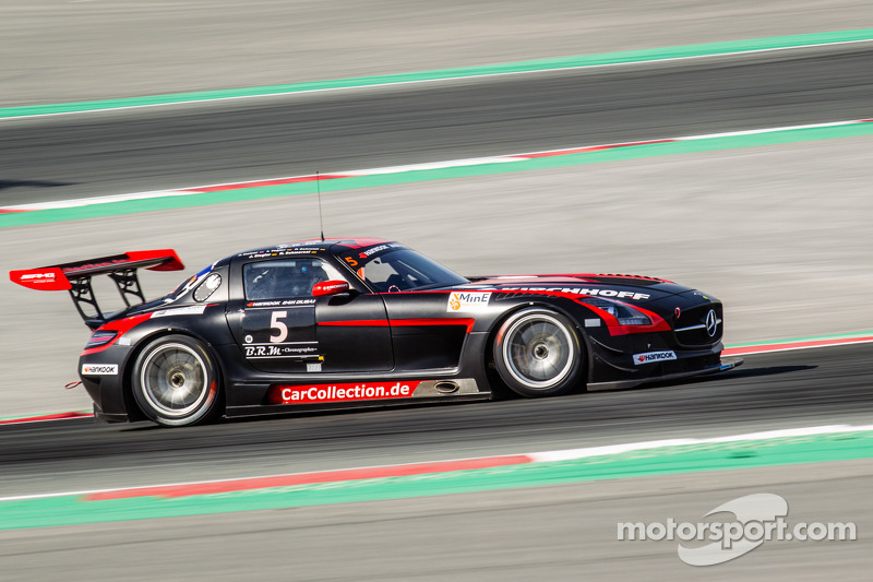 #5 Car Collection Motorsport Mercedes SLS AMG GT3: Peter Schmidt, Heinz Schmersal, Johannes Siegler,