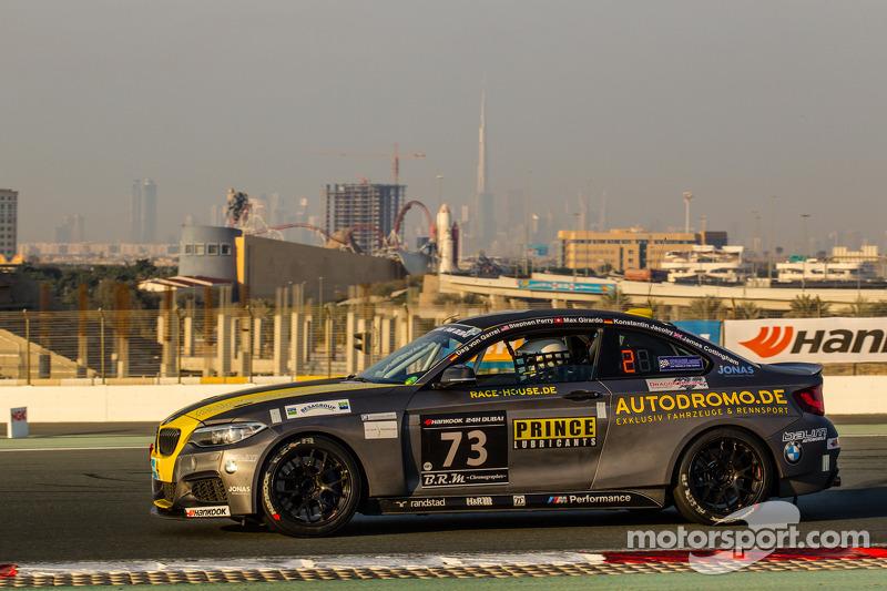 #73 Race-House Motorsport BMW M235i Racing Cup: Dag von Garrel, Stephen Perry, Max Girardo, Konstantin Jacoby, James Cottingham