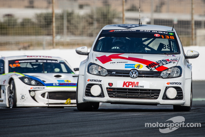#138 KPM Racing Volkswagen Golf: Lucas Orrock, Tom Wilson, Gosia Rdest, Javier Morcillo