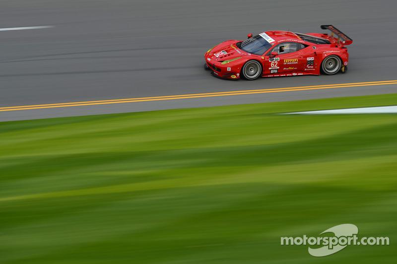 #62 Risi Competizione Ferrari F458: П'єр Каффер, Давіде Рігон, Джанкарло Фізікелла, Олів'є Беретта