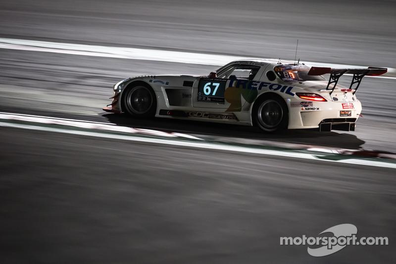 #67 GDL Racing,梅赛德斯SLS AMG GT3: Luc Braams, Max Braams, Duncan Huisman, Hannes Waimer