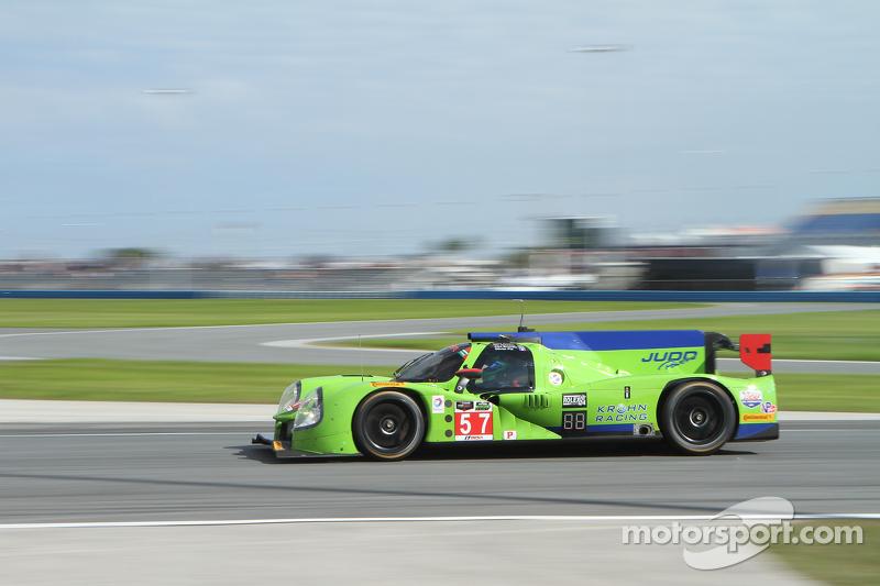#57 Krohn Racing Ligier JS P2 Judd: Tracy Krohn, Olivier Pla, Nic Jonsson, Alex Brundle