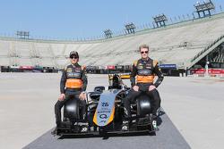 سيرجيو بيريز، سهارا فورس إنديا للفورمولا واحد في جيه أم07، مع زميله بالفريقنيكو هلكنبرغ، سهارا فورس