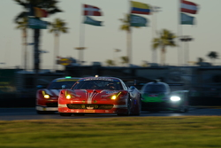 #63 Scuderia Corsa, Ferrari 458 Italia: Bill Sweedler, Townsend Bell, Anthony Lazzaro, Jeff Segal, Jeff Westphal