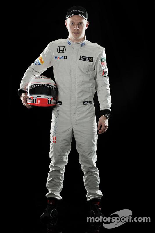 Kevin Magnussen, terceiro piloto da McLaren Honda