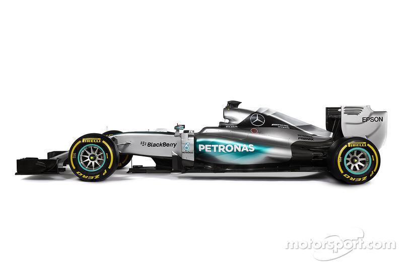 Der neue Mercedes AMG F1 W06