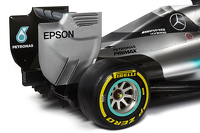 新梅赛德斯AMG车队 F1 W06赛车细节