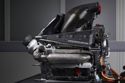 The power unit of the Mercedes AMG F1 W07